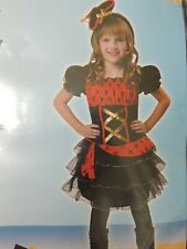 Girls ( 10-12 ) Dainty Pirate Costume Nwt