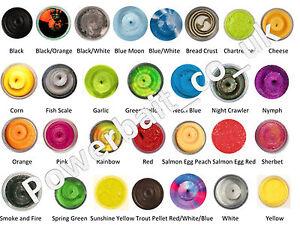 Berkley Glitter Powerbait Dough range including 5 for £24.99 total
