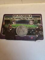 Pat Fitzgerald Hall Of Fame Coin 2008