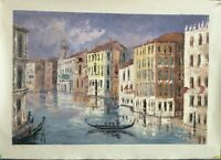 Hand-painted Oil Painting on Canvas Venice City Landscape
