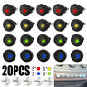 20X LED Dot Light 12V Auto Boat Round Rocker ON/OFF Toggle SPST Switch     6