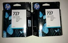 (2) HP 727 Photo Black