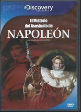 DISOVERY EL MISTERIO DEL ASESINATO DE NAPOLEON DVD NEW