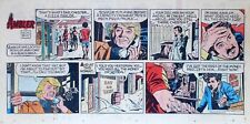 Ambler by Doug Wildey - scarce full color Sunday comic page - March 11, 1973