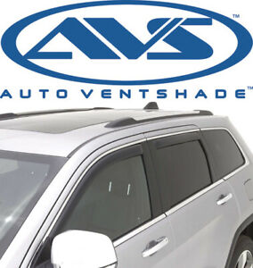 AVS 194167 In-Channel Window Deflector Ventvisor 4-Piece 2010-2017 GMC Terrain