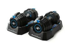 NordicTrack Speed Weights - 55lb Adjustable Dumbbell Pair Set - Free Shipping