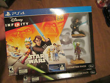 Disney Infinity 3.0 Edition Star Wars STARTER PACK PS4 SONY NEW FACTORY SEALED