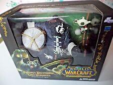 World of Warcraft Pandaren Brewmaster Chen Stormstout  DC Unlimited Figure New!