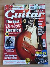 Guitar & Bass Magazine Vol.19 No.11 November 2008 Rare O.O.P (Mick Jones) Framus