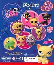 "LPS Littlest Pet Shop Danglers 1"" Inch Charm 8 Piece Set Tomy Yujin Hasbro 2010"