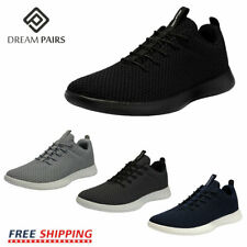 DREAM PAIRS Mens Fashion Sneakers Lace up Knit Breathable Comfort Athletic Shoes