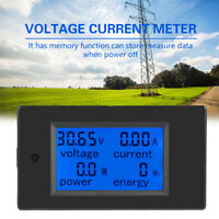 PEACEFAIR PZEM-031 DC 6.5-100V LCD Digital Power Energy Voltage Current Meter