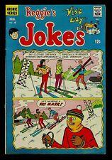 Reggie's Wise Guy Jokes #4 FN- Veronica Lodge, Reggie Mantle, Archie Andrews