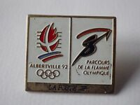 Pin's vintage +attache pin's JEUX OLYMPIQUES ALBERTVILLE 92 / K058