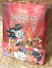 Walt Disney THE ARISTOCATS Blu-Ray Zavvi U.K. Limited Edition STEELBOOK OOP
