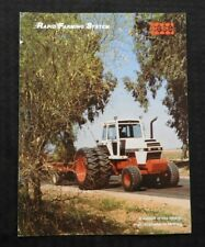 "GENUINE 1981 CASE 2390 2590 TRACTOR ""RAPID FARMING SYSTEM"" BROCHURE CLEAN"