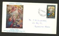 NEW ZEALAND FDC Christmas 3d 1965