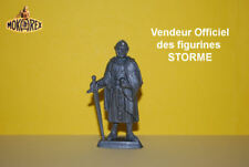 Mokarex - STORME - Feodal - Baudoin de Gand - 54 mm - Figurine Diorama