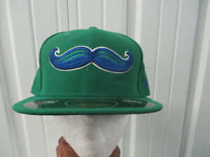 VINTAGE NEW ERA MINOR LEAGUE LEXINGTON LEGENDS MUSTACHE LOGO 7 1/2 CAP HAT NWT