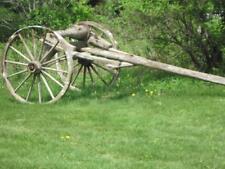 Vintage Antique 1800s/1900s Vermont Farm Ox / Horse Drawn Log Timber Skidder