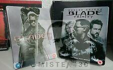 Marvel BLADE 2 II + 3 III limited exclusive Blu ray Steelbook's New&sealed uncut