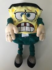 "Spongebob Squarepants FrankenStein 2004 Collectible TY Beanie Baby 9"" Plush"