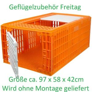 Geflügeltransport Kisten  Größe 97 x 58 x 42cm