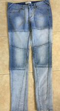 Free People Women Jeans Size W 28 Blue Jeans Denim Multicolor Blue Slim Fit