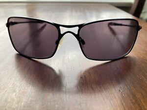 Oakley Crosshair 2.0 Matte Black/Black Sunglasses OO4044-04