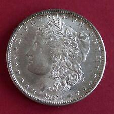 EE. UU. 1881 S Morgan Silver Dollar-San Fransisco Menta