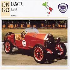 1919-1922 LANCIA KAPPA Classic Car Photograph / Information Maxi Card