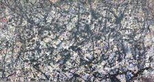 Lee Krasner (1908-1984) Modern American Abstract Expressionist Vintage painting