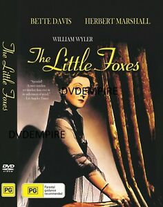 The Little Foxes DVD Bette Davis Brand New and Sealed Australian Release