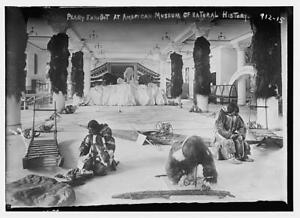 Peary arctic exhibit in American Museum of Natural History,October 1909,be 6566