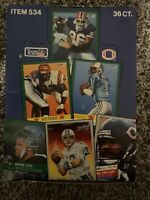 1991 Fleer NFL Football Trading Player Cards   Box 36 Count