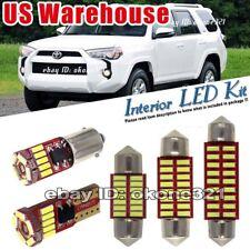 14-pc Super White Car LED Light Interior Package Kit Fit 2013-up Toyota 4Runner