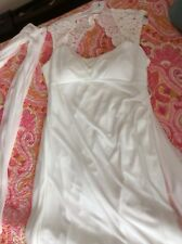 Davids Bridal Off white wedding gown size 18