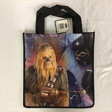 Star Wars Chewbacca Reusable Polypropylene Shopper Tote Bag New 13x13