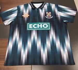 Lincoln City 1993 away shirt, sizes s/m/l/xl/2xl/3xl/4xl, modern reproduction