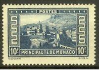 """MONACO STAMP TIMBRE YVERT N° 133 """" PALAIS PRINCIER 10F BLEU """" NEUF xx LUXE"""