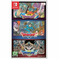 Dragon Quest 1 2 3 Trilogy Collection Nintendo Switch 3-in-1 RPG Adventure Game