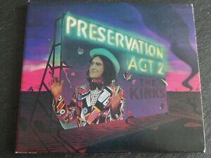 The Kinks - Preservation Act 2, Hybrid CD & SACD remastered, inkl. 2 Bonustracks