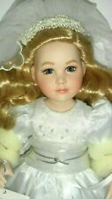 New Extremely Rare Fully Porcelain Mary Katherine First Holy Communion Doll
