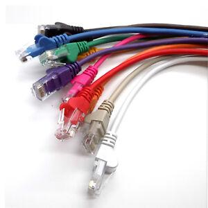 RJ45 Network LAN Cable CAT6 Gigabit Ethernet Fast Patch Lead 1m to 10m Wholesale