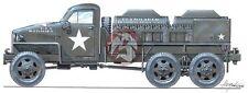 CMK 1/35 Studebaker US6-U5 Truck with 750 gallon Gasoline Tank RA014