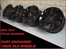 "Land Rover Discovery Sport Range Rover Evoque Black Genuine 20"" Alloy Wheels"