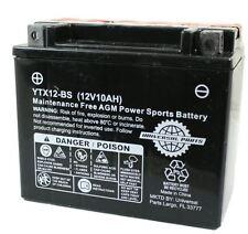 12V 10AH Battery YTX12-BS Scooter Atv Go kart dirt bike  (HS104-57)