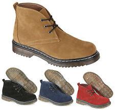 Suede Upper Block Heel Casual Boots for Women