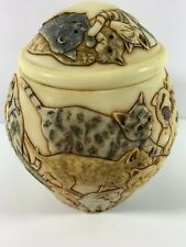 Harmony Kingdom Jardinia Martin Perry Trinket Box Pot Studio Cats Galore