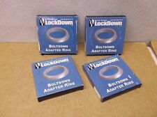 Lot of 4 Anchor Adapter Ring for Maximum Security Lockdown